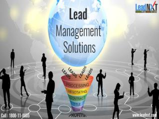 Lead Management Tool