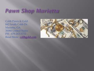 Pawn Shop Marietta