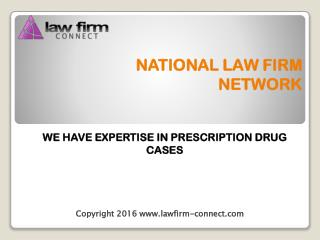 Hightes Rating Legal Help for Drug Lawsuits