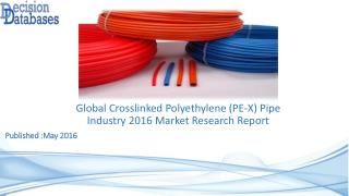 Crosslinked Polyethylene (PE-X) Pipe Market Analysis and Forecasts 2021