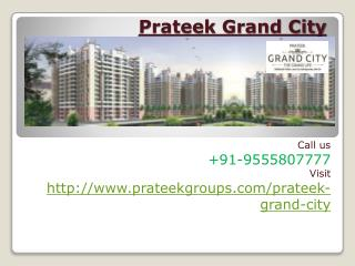 Prateek Grand City Eco-Friendly Housing