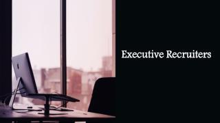 Executive Recruiting