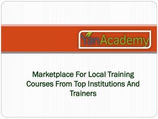 Presentation Skills Training courses Singapore