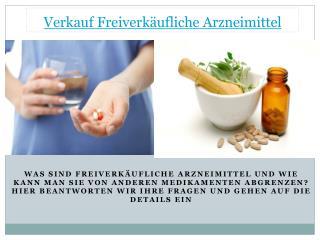 Verkauf Freiverkäufliche Arzneimittel