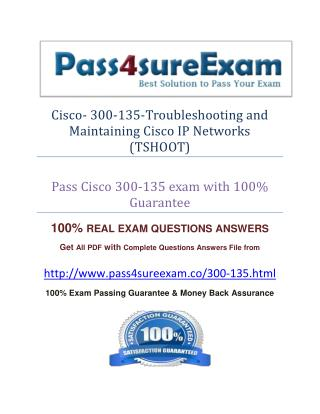 Pass4sure 300-135 Exam Question