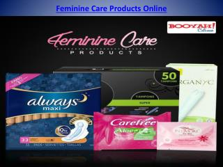 Feminine care products online
