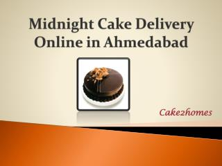 Midnight Cake Delivery in Ahmedabad