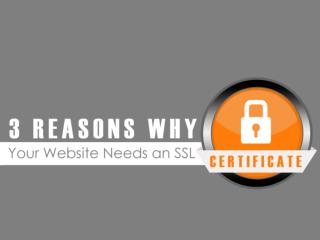 3 Reasons Why Your Website Needs an SSL Certificate