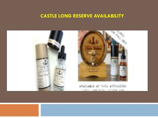 Castle Long Reserve Availability