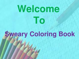 Sweary Coloring Book