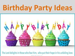 Kids Birthday Party Ideas -  http://www.cardsbymellc.com/company-info/