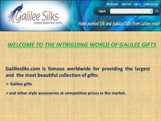 galilee gift at galileesilks.com