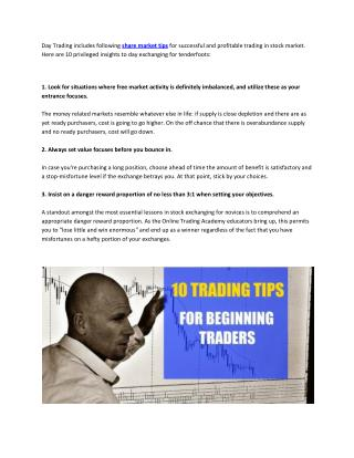 Helpful Trading Tips For Beginners
