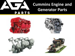 Cummins Heavy Machinery, Engine and Generator Parts Dealer - AGA Parts