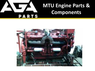 MTU Heavy Machinery, Engine Parts and Components - AGA Parts