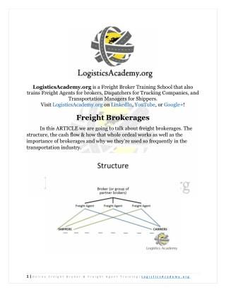 Freight Brokerages