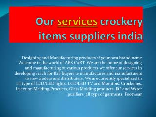 Our services footwear manufacturing companis