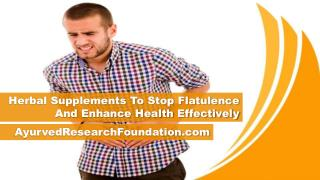 Herbal Supplements To Stop Flatulence And Enhance Health Effectively