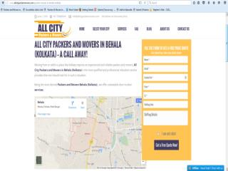 Packers and Movers in Behala (Kolkata)-All City Packers & Movers�