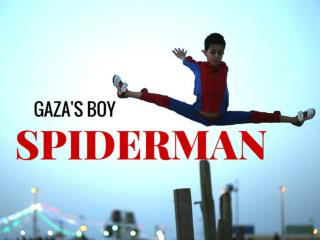 Gaza`s boy Spiderman