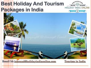 Best Holiday And Tourism Packages in India