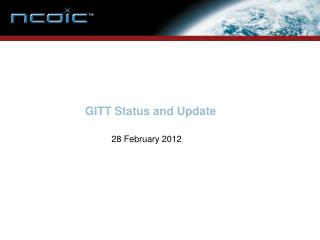 GITT Status and Update