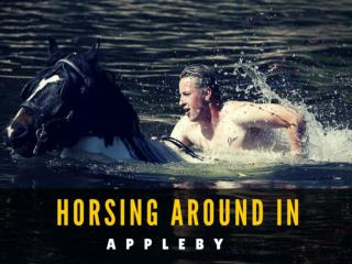 Horsing around in Appleby