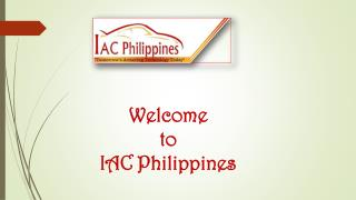 IAC Philippines-Armored Cars