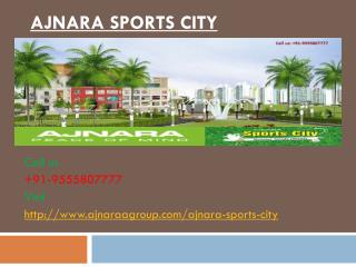 Ajnara Sports City Amazing Homes
