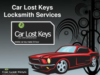Lost your car keys