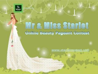 Mr & Miss Starlet Beauty Pageant Contest In Mumbai