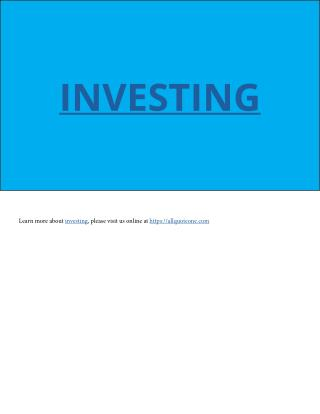 Investing - All Quote One https://allquoteone.com