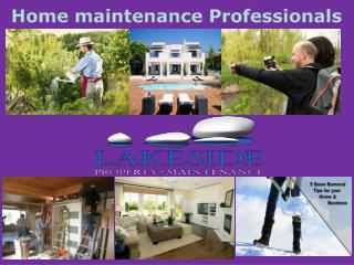 Home care property maintenence professionals tahoe