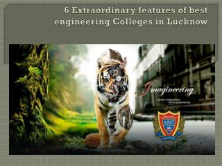 best engineering Colleges in Lucknow