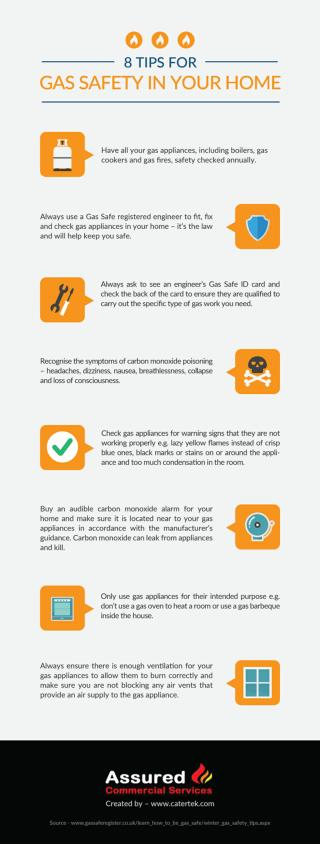 8 Tips for a More Efficient Gas Boiler (Infographic)