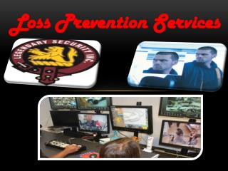 Loss Prevention Services
