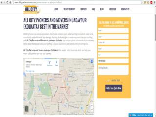 Packers and Movers in Jadavpur (Kolkata) - All City Packers & M®