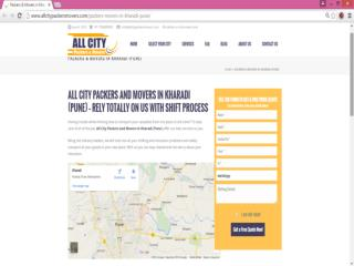 Packers and Movers in Kharadi (Pune) - All City Packers and Movers�