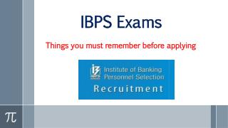 Common mistake in ibps registration
