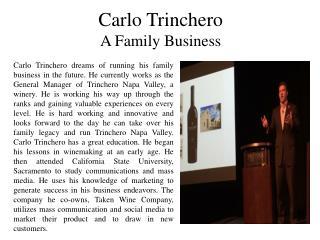 Carlo Trinchero - A Family Business