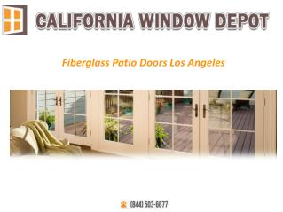 Fiberglass Patio Doors Los Angeles
