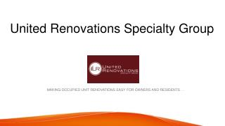 Multifamily Renovation Contractor