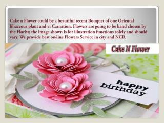 Significance of Flowers and Cake Combo
