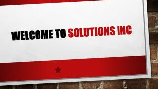 Welcome to 4 ACOUSTIC by Solution Inc