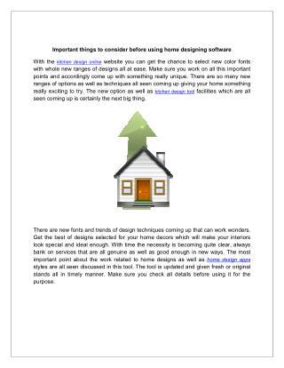 online kitchen design software tool