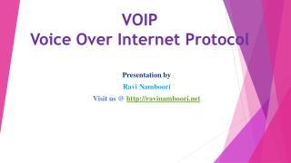VOIP Advantages & Disadvantages by Ravi Namboori Entrepreneur