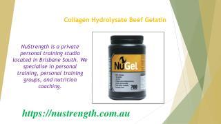Protein Powder Brisbane - Beef Gelatin