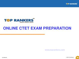 Online CTET exam preparation