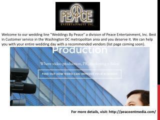 Videogrpaphy Arlington VA