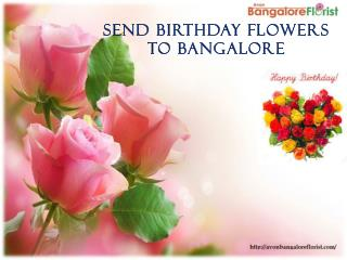 Birthday Flowers Delivery in Bangalore